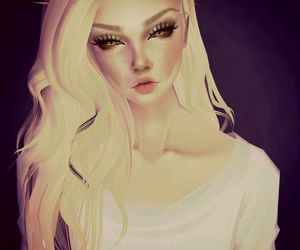 blond, cartoon, and colors image