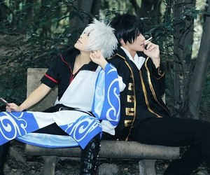 cosplay, gintama, and gintoki image