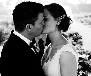 bones, booth, and wedding image