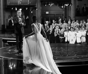 black and white, dress, and oscar image