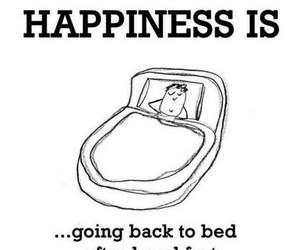 happiness, bed, and sleep image