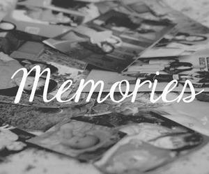 memories, photo, and black and white image