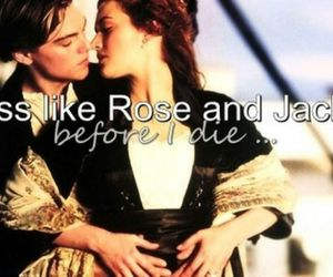 kiss, before i die, and rose image