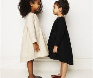 kids, dress, and girls image