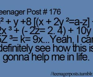 funny, life, and teenager post image