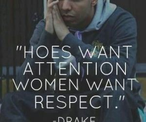 Drake, quote, and woman image