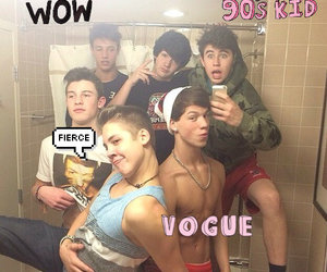 cameron dallas, taylor caniff, and nash grier image