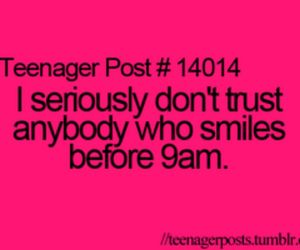 teenager post, funny, and smile image