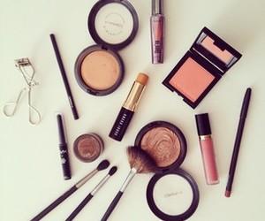 beauty, lipstick, and make up image