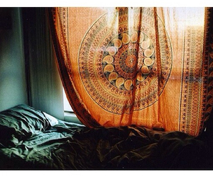 bed, room, and indie image