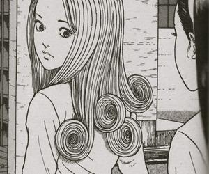 girl, manga, and uzumaki image