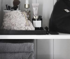 home, makeup, and bathroom image