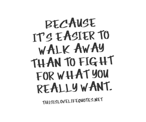 fight, quotes, and Easy image