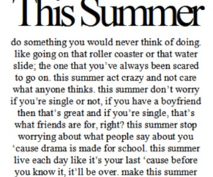 summer, quote, and like image
