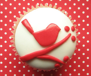 cupcake, red, and cute image