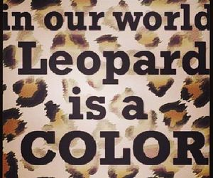 leopard, cheetah, and girly image