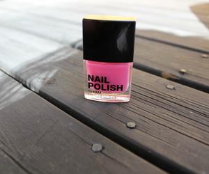 nail polish and pink image