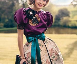emma watson, dress, and harry potter image
