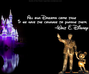 Dream, disney, and quote image