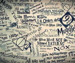 harry potter, hogwarts, and muggle image