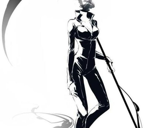 celtic, creepy, and celty image