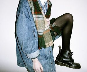 grunge, style, and boots image