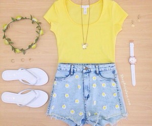 outfit, cute, and summer image