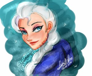 disney, frozen, and elsa frozen image