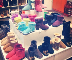 boots, fashion, and uggs image