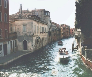 venice, vintage, and italy image