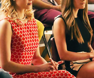 glee, quinn fabray, and blonde image