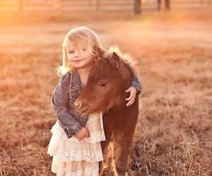 horse, baby, and animal image