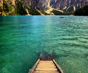 water, mountains, and amazing image