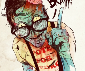 zombie, brain, and use your brain image