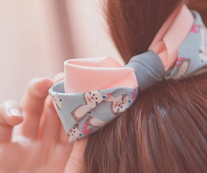 hair, kawaii, and kfashion image