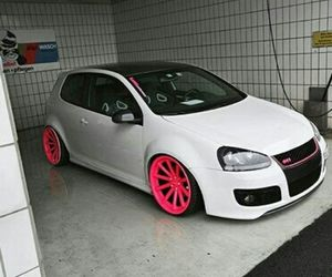 gti, pink, and stance image