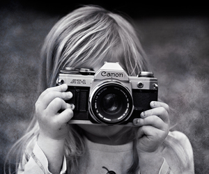 black and white, camera, and photo image