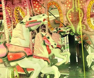 carousel and horse image