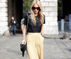 fashion, blonde, and pants image