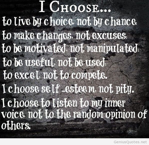 Chose Life Wallpaper Wall Quote Hd Genius Quotes