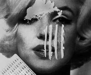 drugs, cocaine, and Marilyn Monroe image
