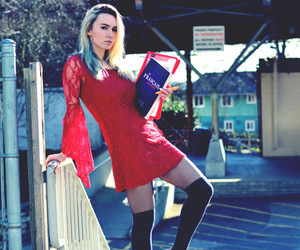 fashion blogger, jessica luxe, and fashion photography image