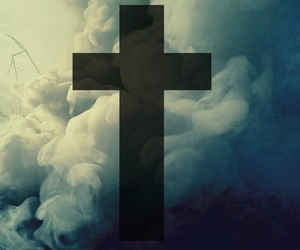 background and cross image