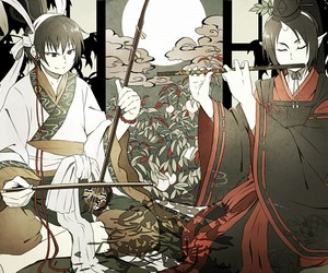 hoozuki, love, and hoozuki no reitetsu image