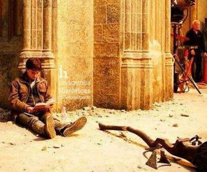 daniel radcliffe, read, and hp image
