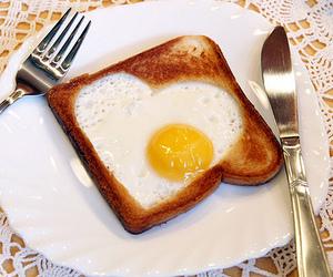 egg, food, and toast image