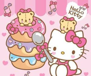 hello kitty, sanrio, and kawaii image