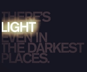 light, quotes, and dark image