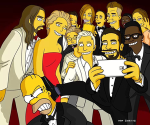 oscars and simpsons image