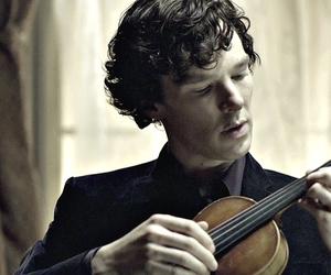 holmes, Hot, and violin image